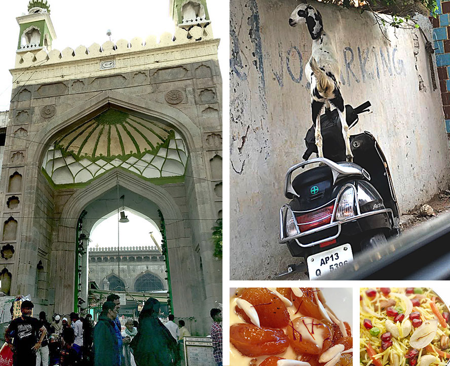 Quintessential images of the city of Nizams