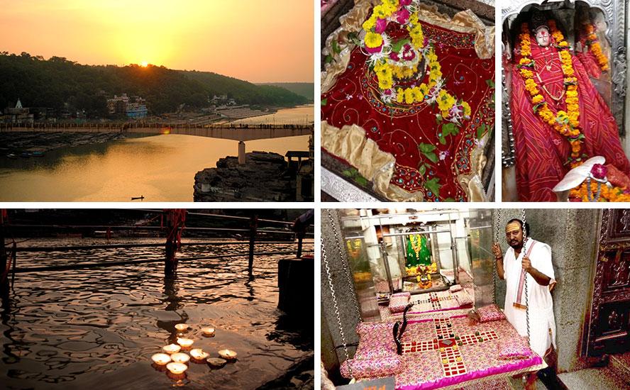 Narmada Aarti and Shyam Shringar