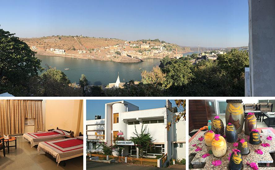 A grand view of MPT's Narmada Resort