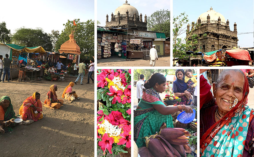 The tombs of Bhonsle Dynasty and glimpses of authentic Marathwada rural life