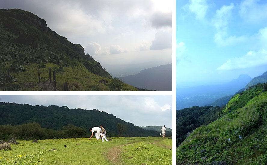 Beautiful view of Sahyadri hill range en route to Shri Bhimashankar