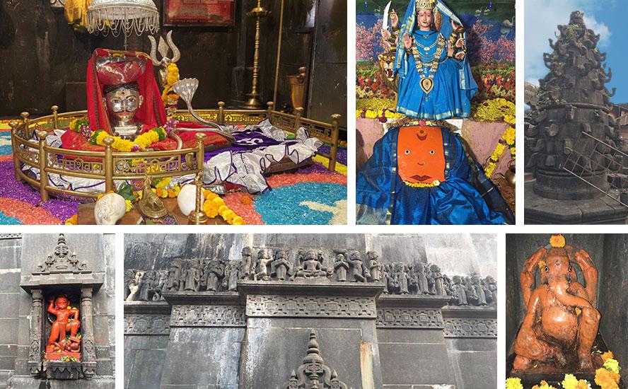 Shri Bhimashankar Jyotirlinga, Evil destroyer Kamalja Devi, Deepmalika and fascinating temple views
