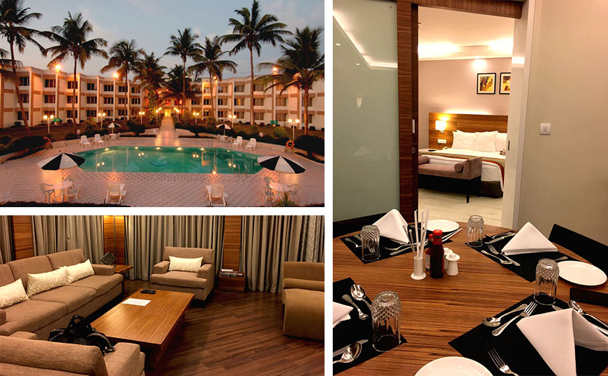 Welcome Hotel Rama International in Aurangabad.