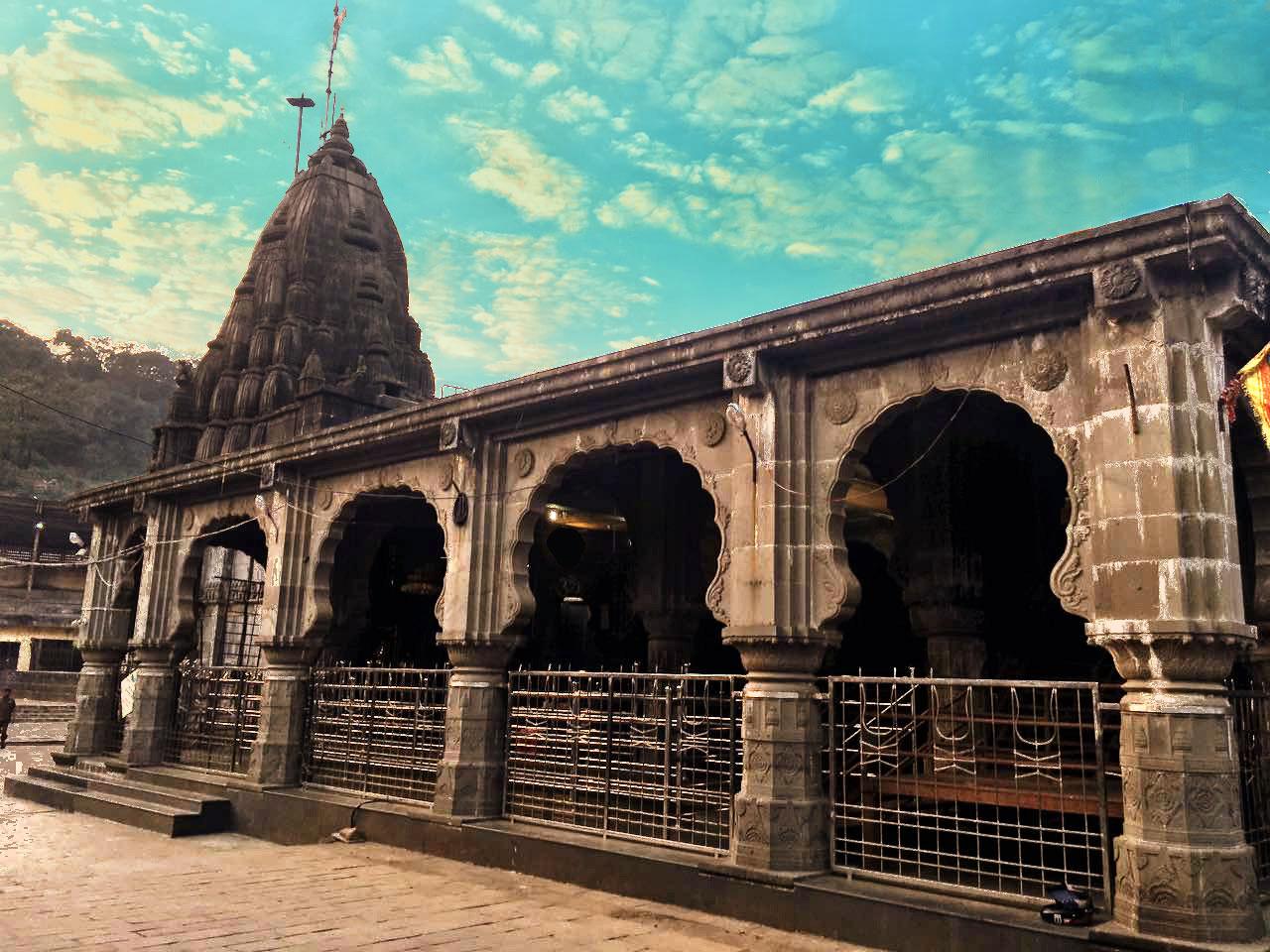 Shri Bhimashankar temple - The sixth of the 12 divine Jyotirlingas of Lord Shiva.