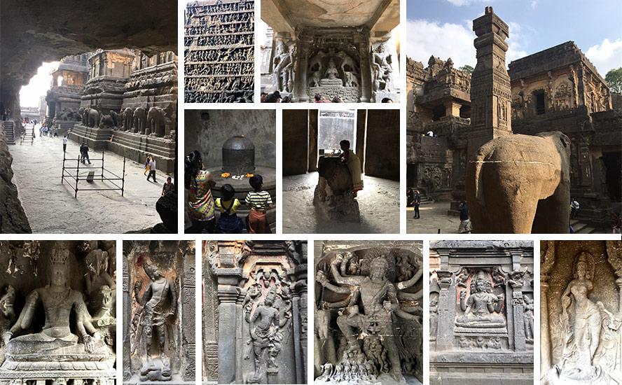 The Kailasa Temple of Ellora