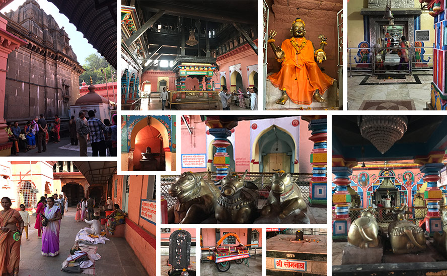 Magnificent wooden Mandapa built by Queen Ahilya Bai Holkar