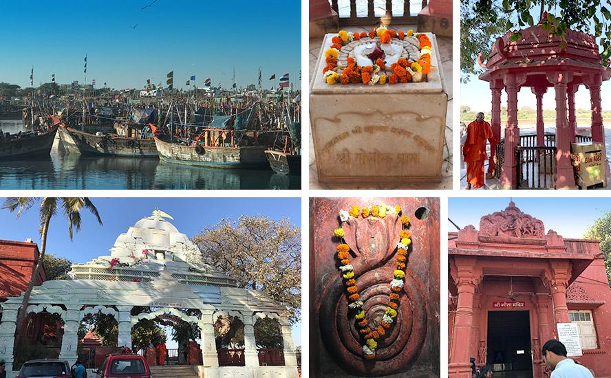 The Dehotsarg Teertha Complex, Veraval Docks, Balram Temple, Sri Krishna Charan Dhaam