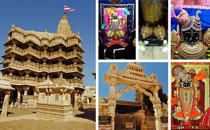 Sri Dwarkadhish Jagat Temple, the Shri Vigrah of the embellished Sri Dwarkadhish