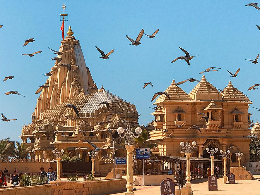 The glorious Sri Somnath Jyotirlinga Teerthadhaam