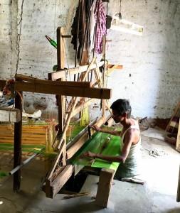 Ikat Saree weavers 1