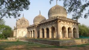 Tombs of Qutub Shah clan 12