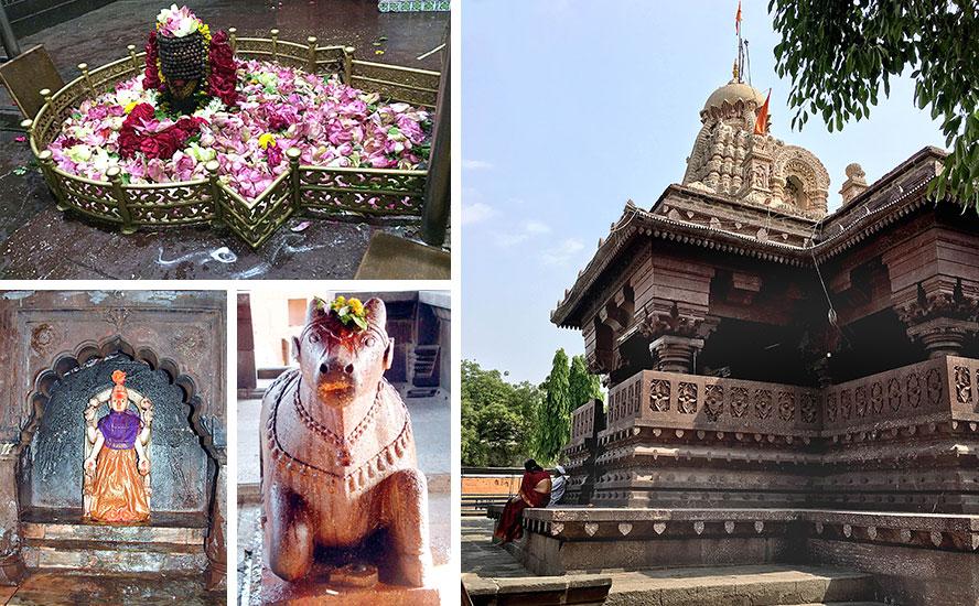कल्याणकारी शिव का दिव्य निवास, घृष्णेश्वर ज्योतिर्लिंग, देवी पार्वती और नंदीकेश्वर