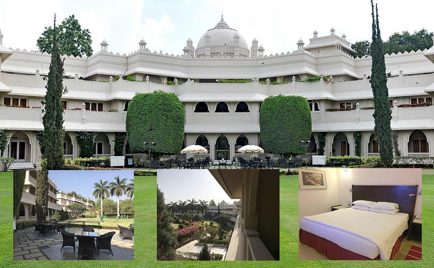 आकर्षक साज-सज्जा वाला होटल ताज औरंगाबाद