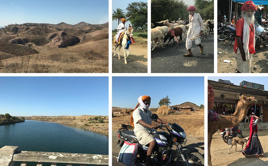 अनूठी पहाड़ियां, माही नदी, भेड़पालक रबारी, भील आदिवासी समुदाय