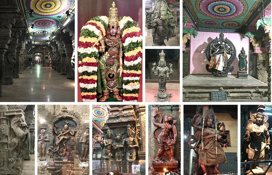 मीनाक्षी अम्मन मंदिर की दिव्य स्थापत्य कला, नटराज प्रतिमा