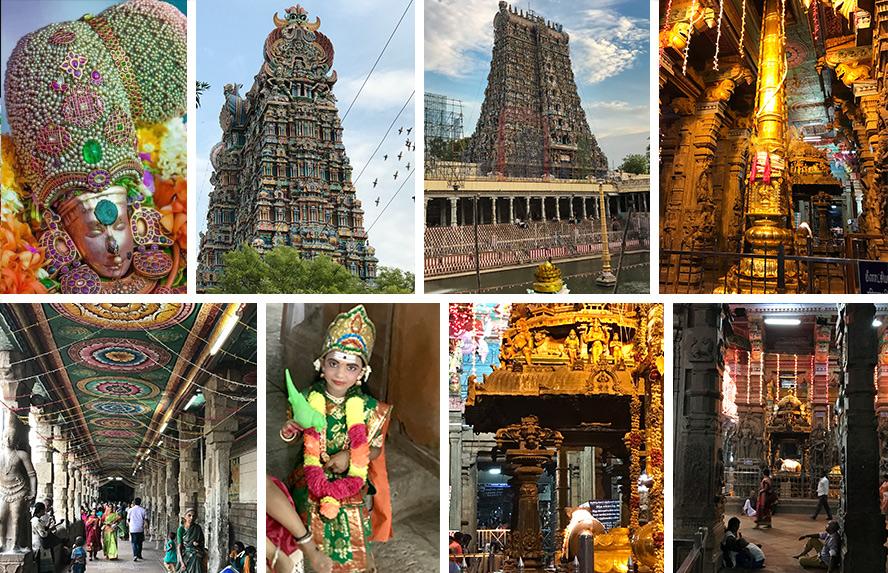मीनाक्षी अम्मन मंदिर की भव्यता