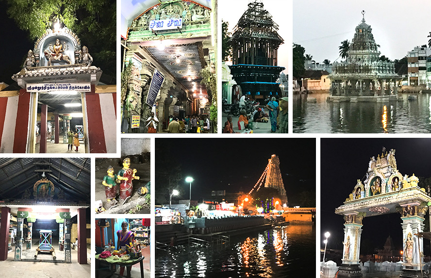 देवी के 33 वें पीठ स्थान, मुन्न उदिता नांन्गई दिव्य स्थानम् में शूलधारिणी देवी विराजमान